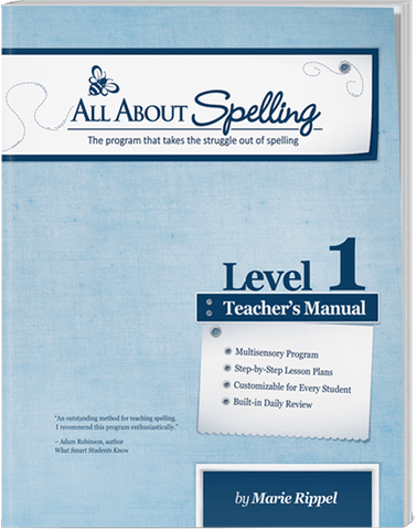 All About Spelling Level 1: Teacher's Manual