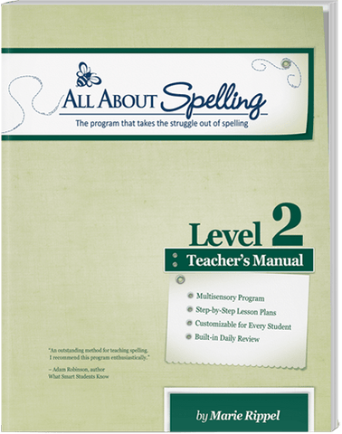 All About Spelling Level 2: Teacher's Manual