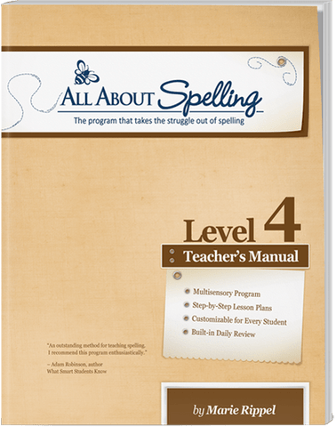 All About Spelling Level 4: Teacher's Manual