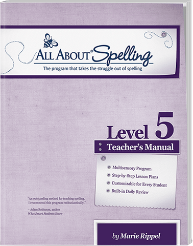All About Spelling Level 5: Teacher's Manual