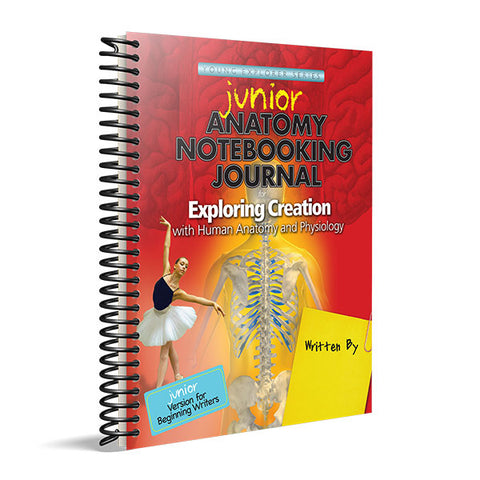 Exploring Creation with Human Anatomy and Physiology: Junior Notebooking Journal