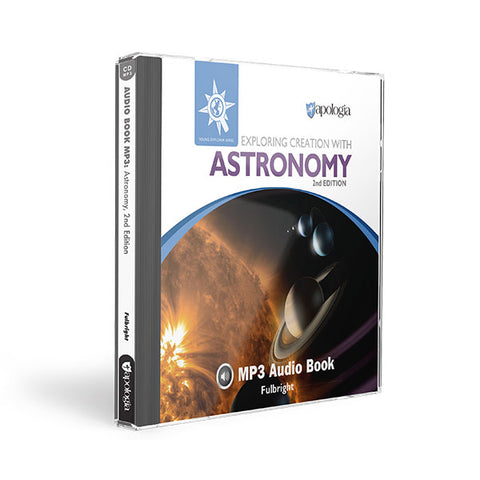 Exploring Creation with Astronomy (2nd Edition): MP3 Audio CD