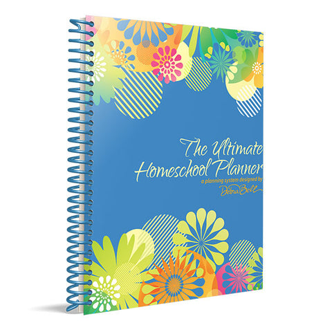 The Ultimate Homeschool Planner: Blue Cover