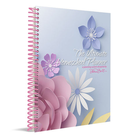 The Ultimate Homeschool Planner: Pink Cover