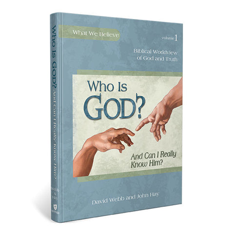 Who is God? (And Can I Really Know Him?): Textbook [DAMAGED COVER]