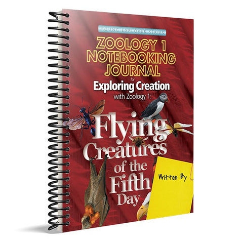 Exploring Creation with Zoology 1: Notebooking Journal