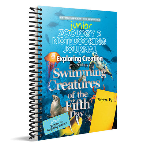 Exploring Creation with Zoology 2: Junior Notebooking Journal