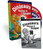 Dinosaurs, Genesis & the Gospel (DVD)