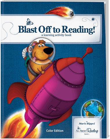 All About Reading Level 1: Blast Off to Reading! Activity Book (Color Edition)