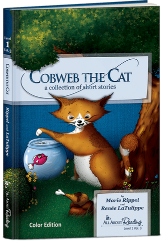 All About Reading Level 1: Cobweb the Cat (Volume 3, Color Edition)