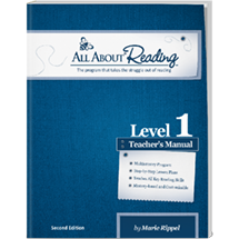 All About Reading Level 1 (Second Edition) - Teacher's Manual