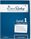 All About Reading Level 1: Teacher's Manual (Color Edition)