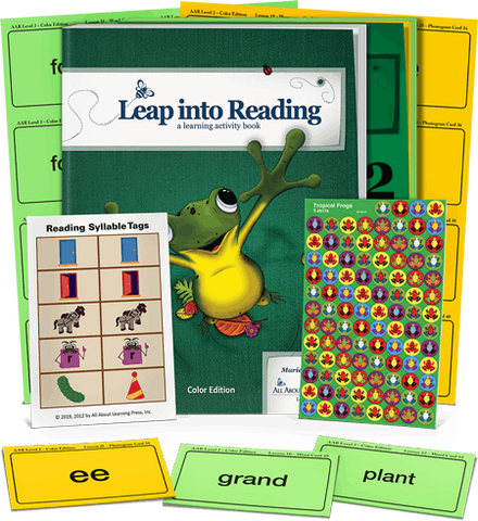 All About Reading Level 2: Student Packet (Color Edition)