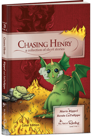 All About Reading Level 3: Chasing Henry (Volume 1 Color Edition)