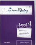 All About Reading Level 4: Teacher's Manual (Color Edition)