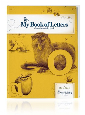 All About Reading Pre-reading: My Book of Letters Activity Book