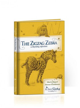 All About Reading Pre-reading: The Zigzag Zebra Read-Aloud Book