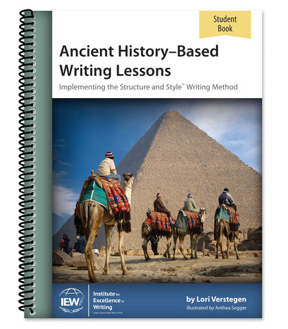 Ancient History-Based Writing Lessons (Student Book only), Fifth Edition