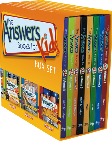 Answers Book for Kids Boxed Set (8 books)