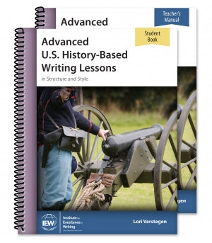 Advanced U.S. History-Based Writing Lessons [Teacher/Student Combo]