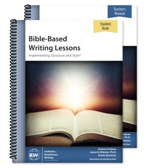 Bible-Based Writing Lessons [Teacher/Student Combo]