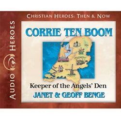Corrie Ten Boom: Keeper of the Angels' Den (Christian Heroes Then & Now Series) (CD)