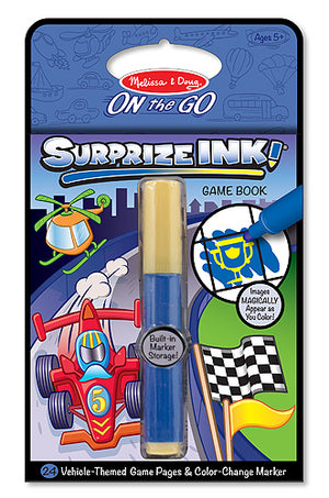 Surprize Ink! Vehicles - Travel Activity Book