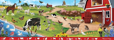 Sunny Hill Farm Search & Find Floor Puzzle