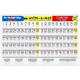 Counting to 100 Write-A-Mat