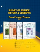 Survey of Science History & Concepts - Parent Lesson Planner