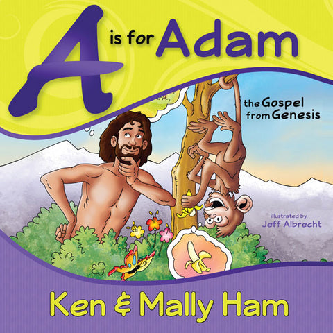A is for Adam (spiral-bound)