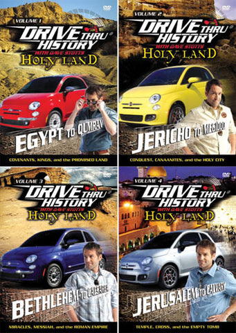 Drive Thru History Holy Land - Set of 4 DVDs
