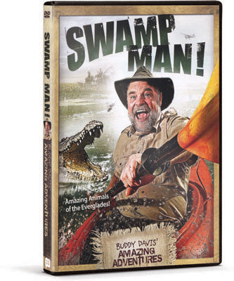 Swamp Man! - Buddy Davis: Amazing Adventures (DVD)