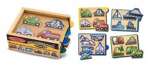 Vehicles Mini-Puzzle Pack