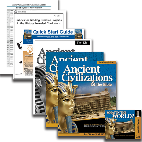 Essentials Pack: Ancient Civilizations & the Bible (History Revealed)