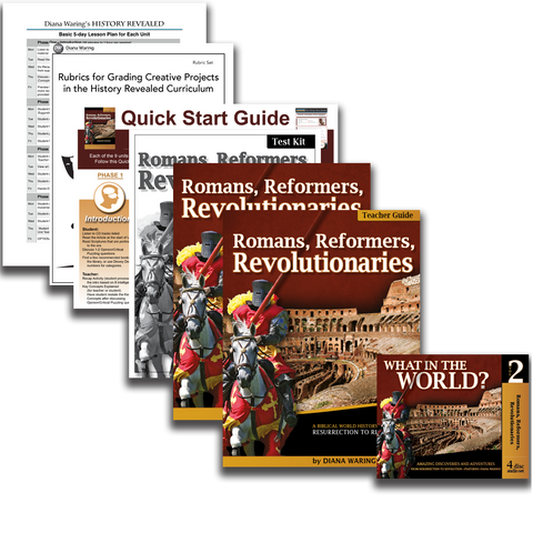 Essentials Pack: Romans, Reformers, Revolutionaries (History Revealed)