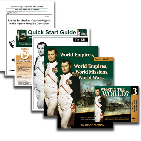 Essentials Pack: World Empires, World Missions, World Wars (History Revealed)