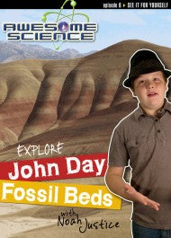 Explore John Day Fossil Beds with Noah Justice (DVD)