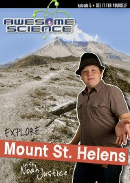 Explore Mt. St. Helens with Noah Justice (DVD)
