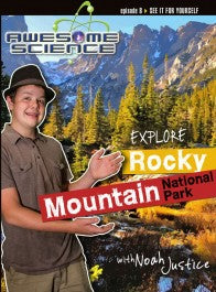 Explore Rocky Mountain National Park with Noah Justice (DVD)