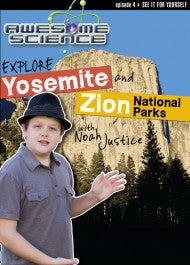 Explore Yosemite and Zion National Parks with Noah Justice (DVD)