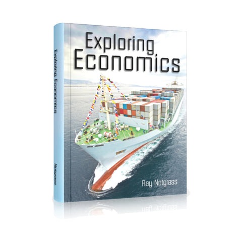 Exploring Economics Text (2016) [DAMAGED COVER]