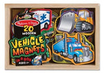 Magnetic Wooden Vehicles
