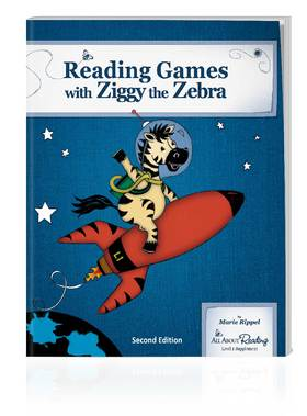 All About Reading Level 1: Reading Games with Ziggy the Zebra