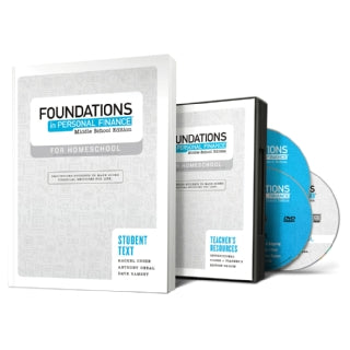Foundations in Personal Finance: Middle School Edition for Homeschool - Teacher/Student Pack