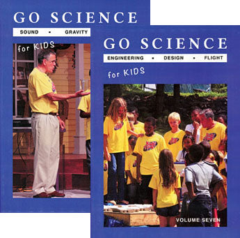 Go Science - Series 2 (7 DVD Set)