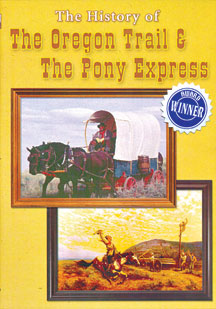 The History of the Oregon Trail & the Pony Express (U.S. History Collection) (DVD)