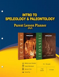 Intro to Speleology & Paleontology (Parent Lesson Plans)