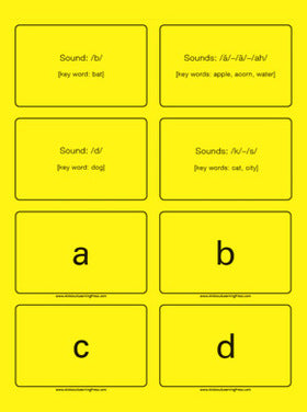 All About Spelling Basic Phonogram Cards