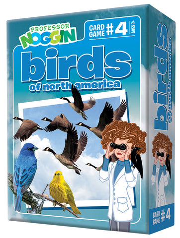 Professor Noggin Birds of North America